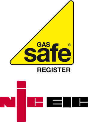 Gas Safe and NICEIC Registered